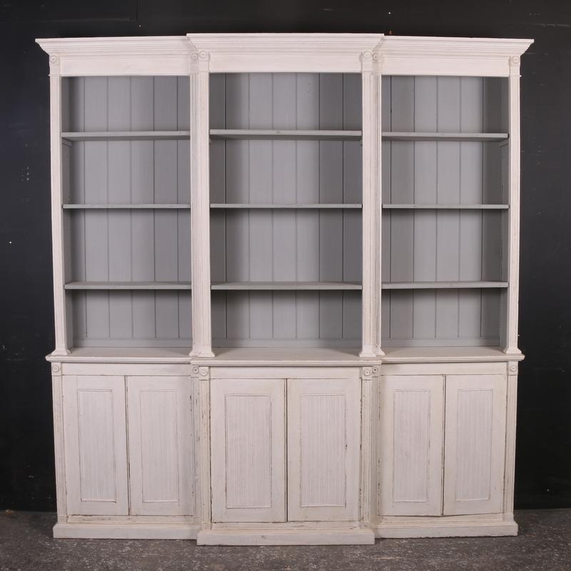 Breakfront Bookcase
