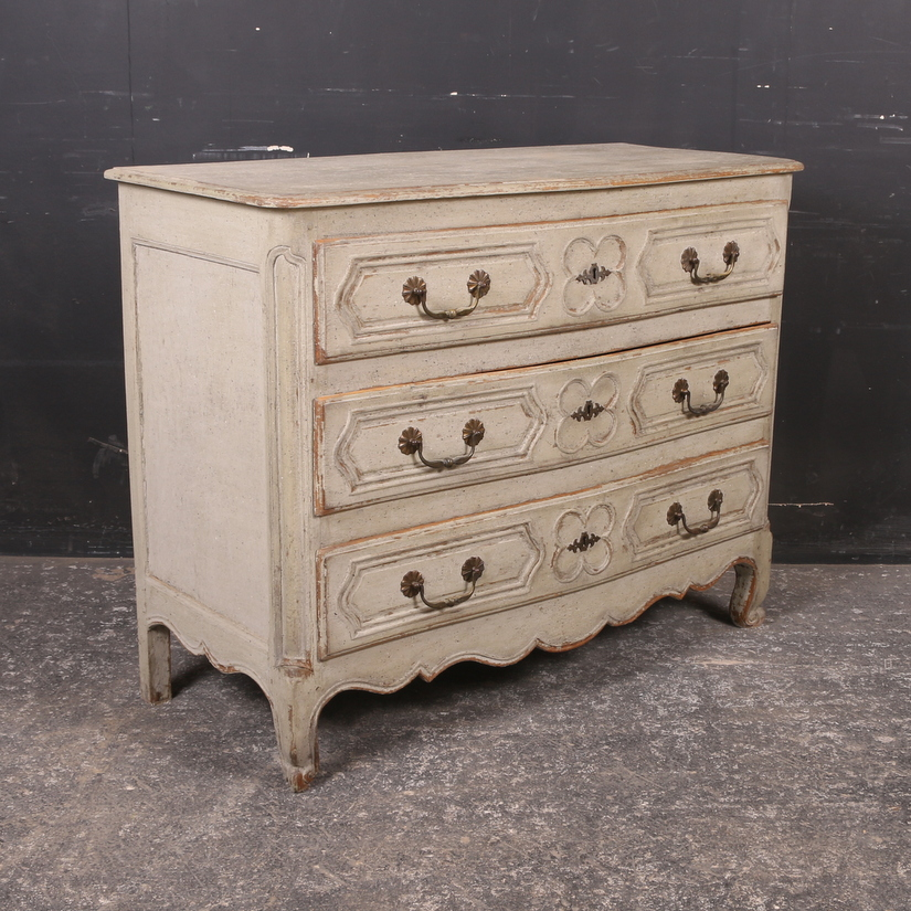 French Bowed Commode