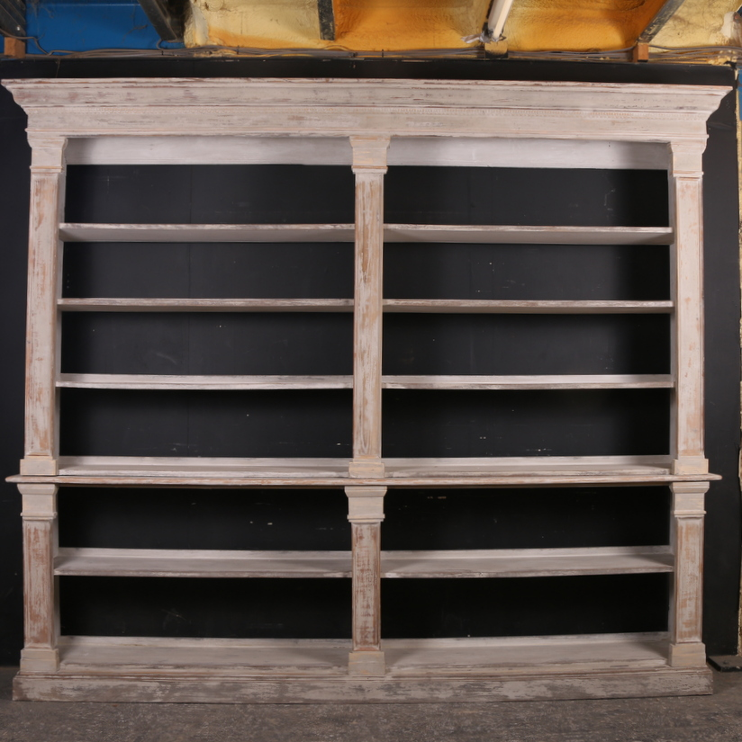 Painted Open Bookcase