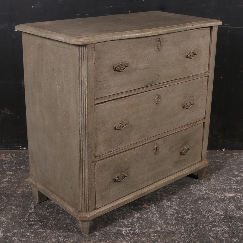 Small Painted Commode