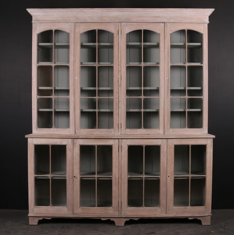 Bleached Oak Bookcase