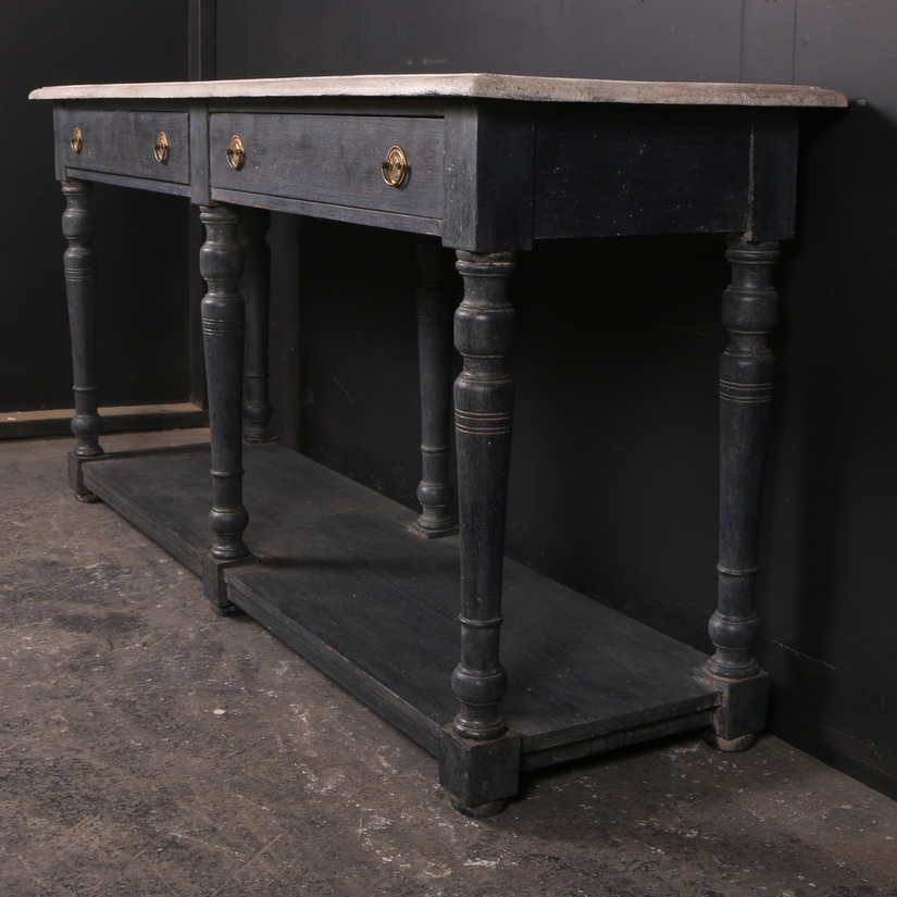 Painted Drapers Table