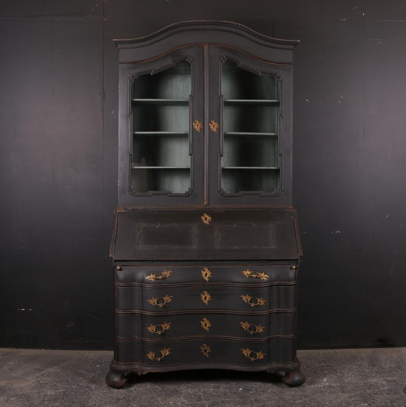 Danish Bureau Bookcase