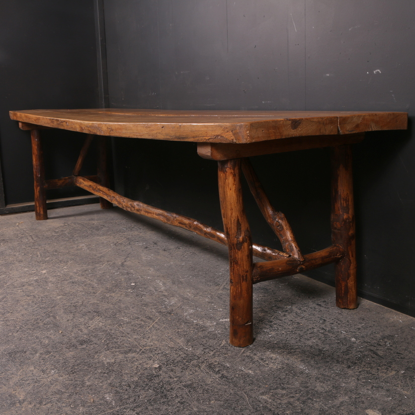Wonderful French Serving Table
