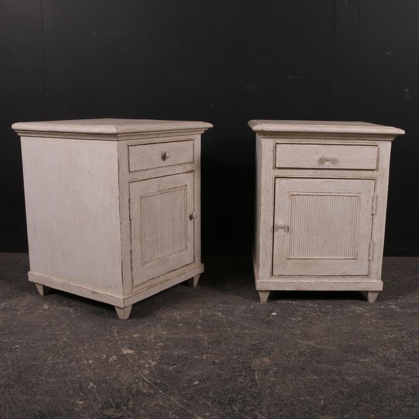 Custom Built Bedside Cabinets