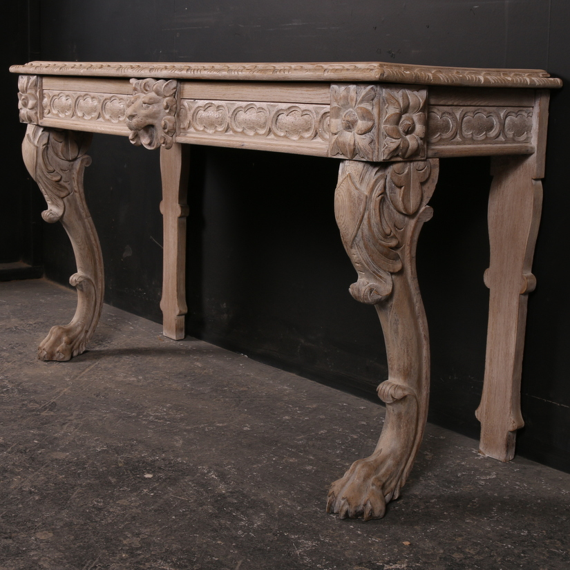 Exceptional Scottish Console Table