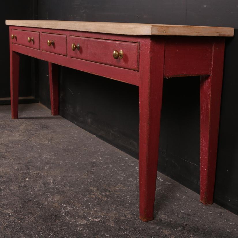 Antique Serving Table