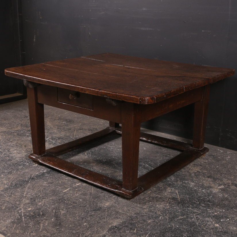 Elm and Fruitwood Low Table
