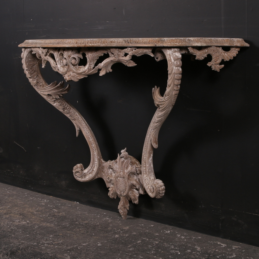Italian Pine Console Table