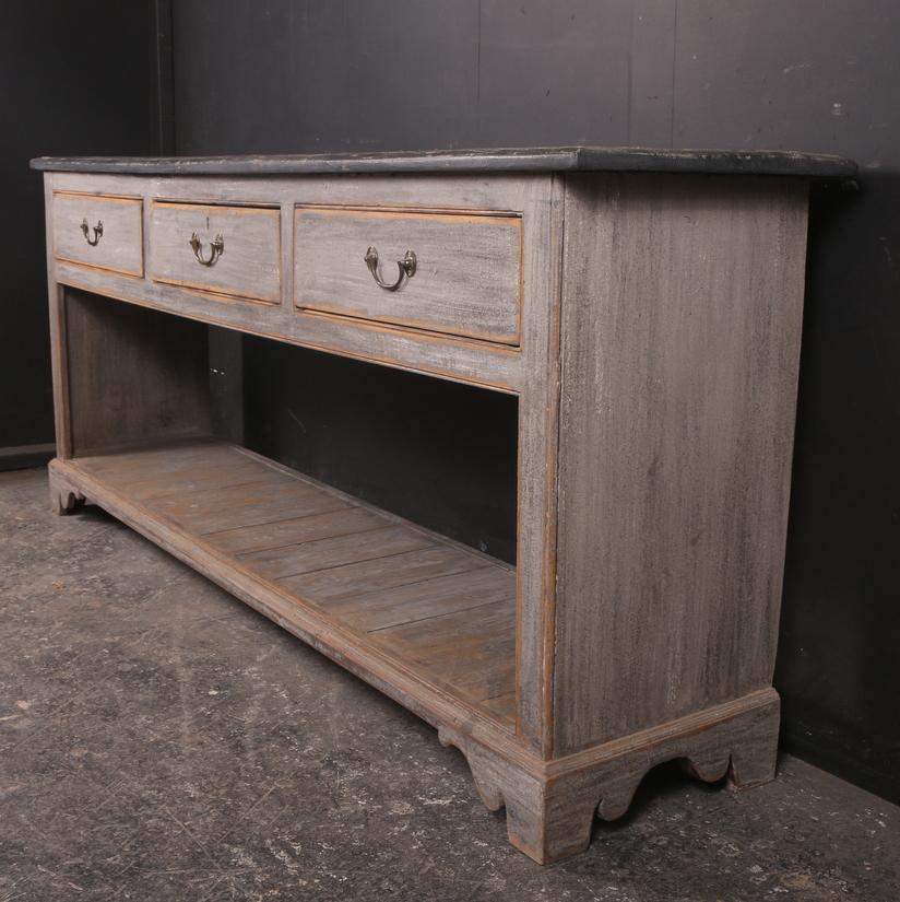 Large English Dresser Base