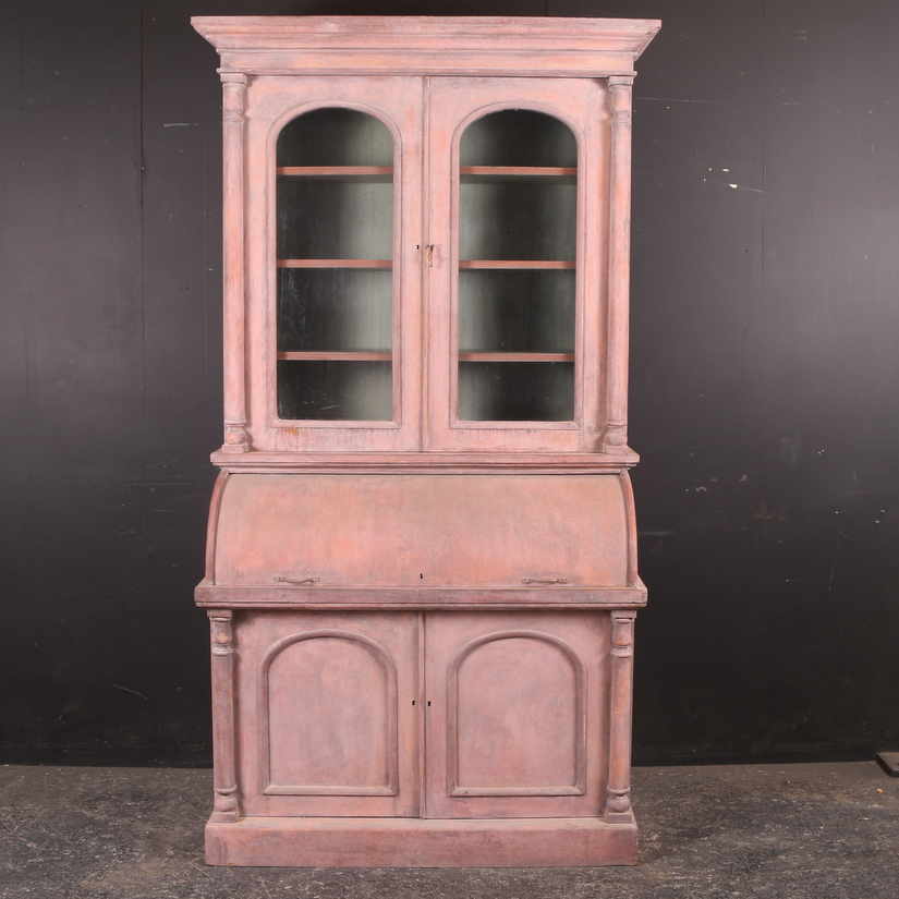 Cylinder Bureau Bookcase