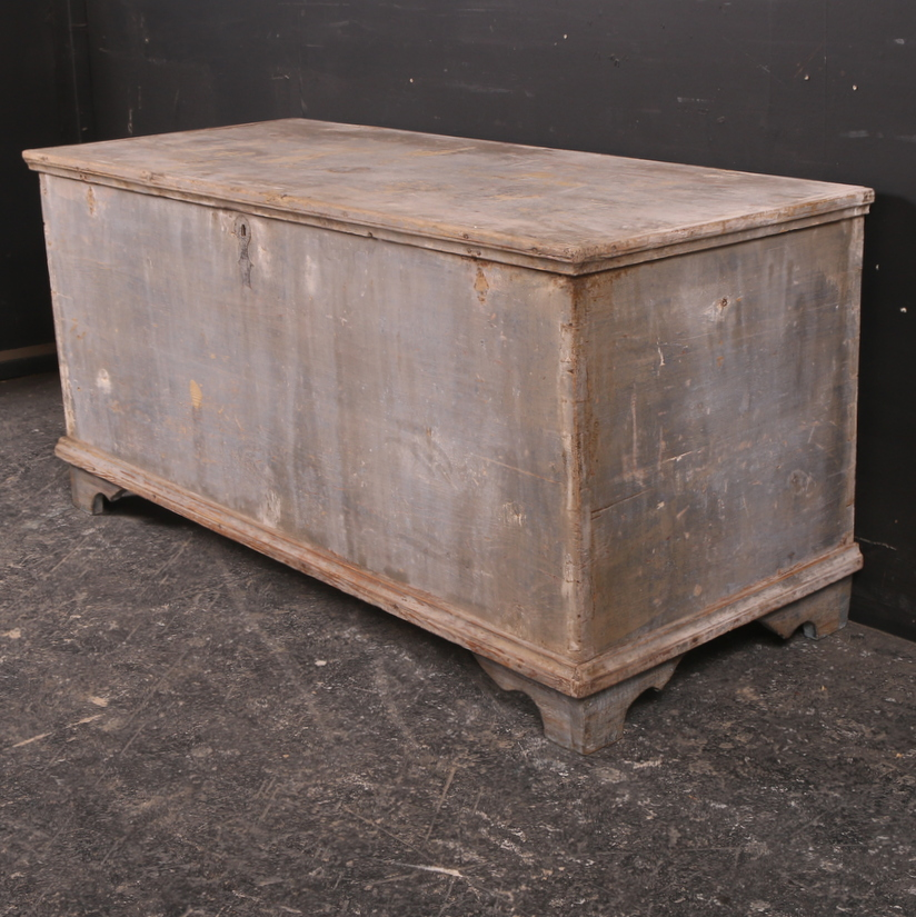 Large Original Painted Coffer