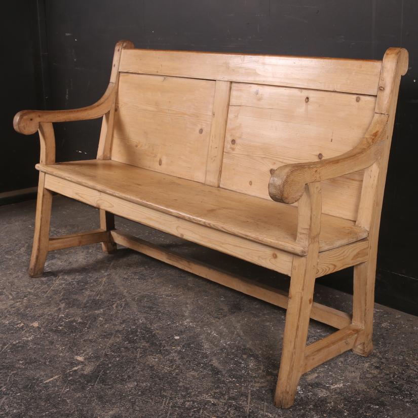 Pale Pine Bench