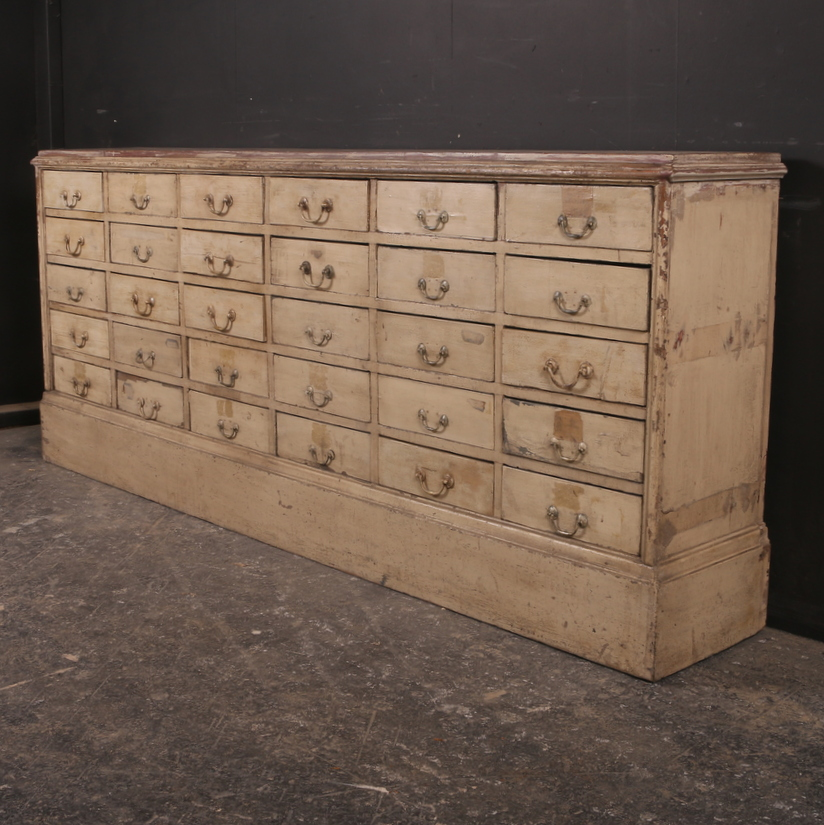 French Bank of 30 Drawers