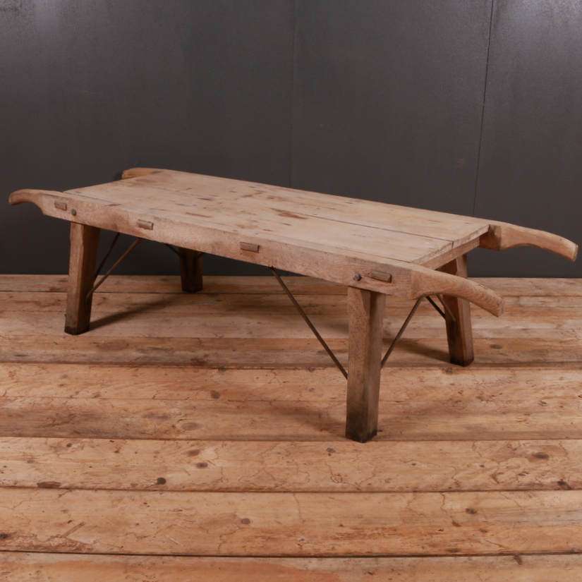 Elm and Sycamore Bench / Coffee Table