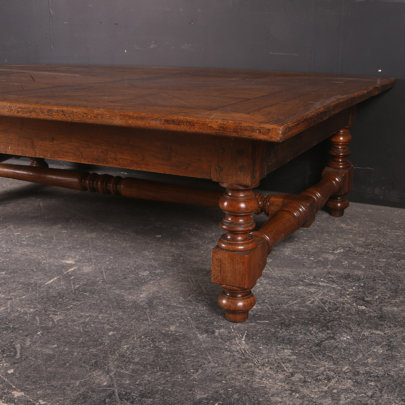 Huge Oak Low Table