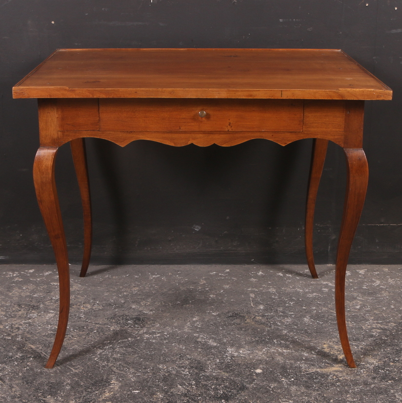 French Cherry Lamp Table