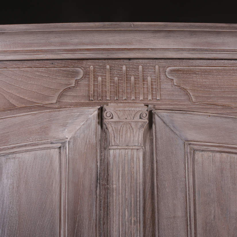 French Oak Armoire