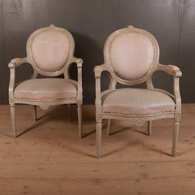 French Salon Chairs