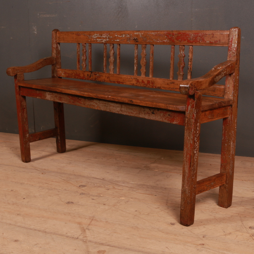 We have a beautiful range of antique benches for your home