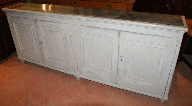 Antique Painted Enfilade