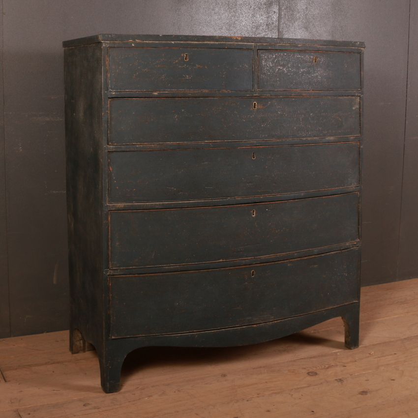19th Century Bowfront Chest of Drawers