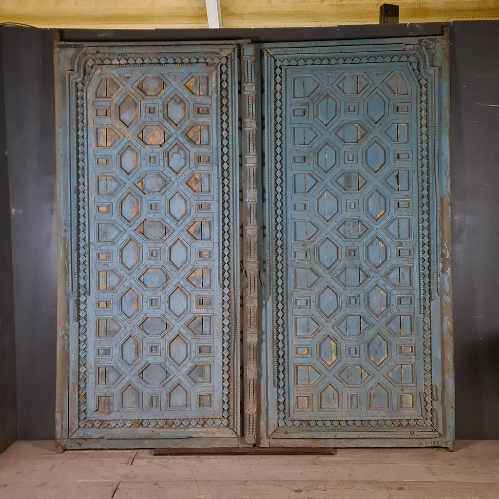 Pair of Huge Anglo-Indian Doors