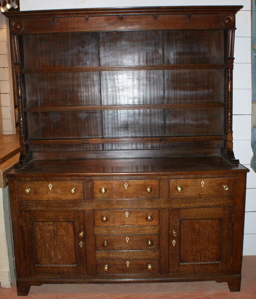 Cornish Oak Dresser.