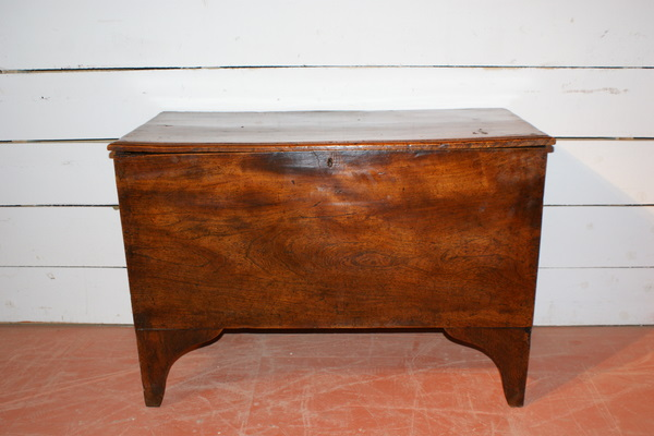 18th C English Elm Coffer.