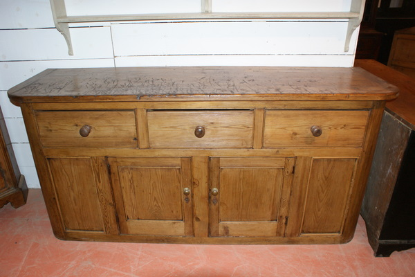 3 Drawer West Country Dresser Base.