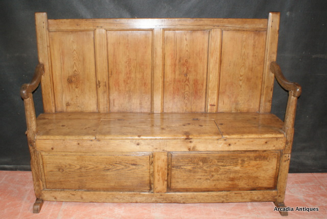 Antique Welsh Settle