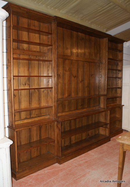 Fabulous Breakfront Library Bookcase