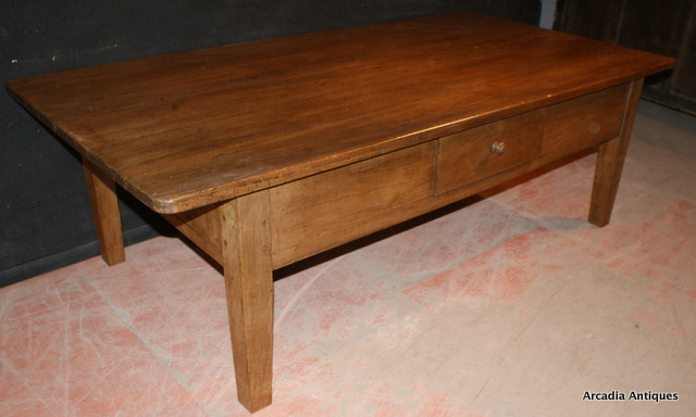 French Fruitwood Coffee Table Antique COFFEE TABLES Antique TABLES