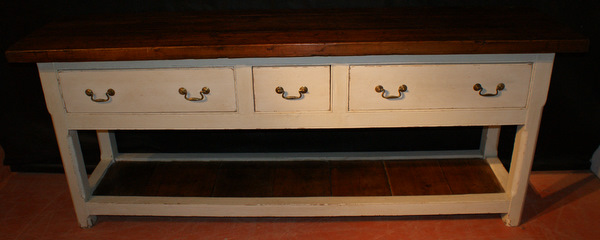 3 Drawer Pot Board Server
