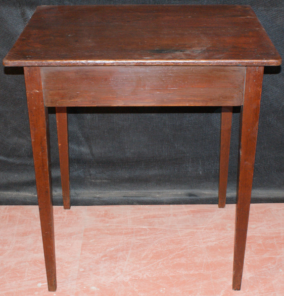 Small French Painted Lamp Table