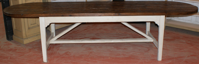 French Style Refectory Table