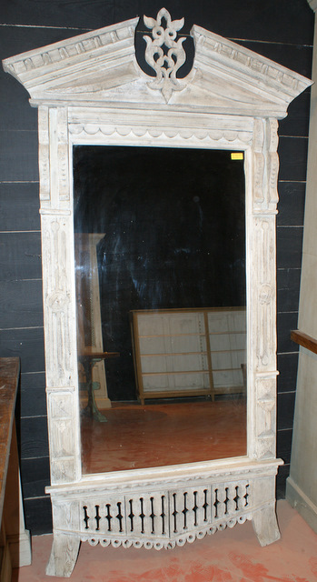 Painted Mirror Of Architectural Form
