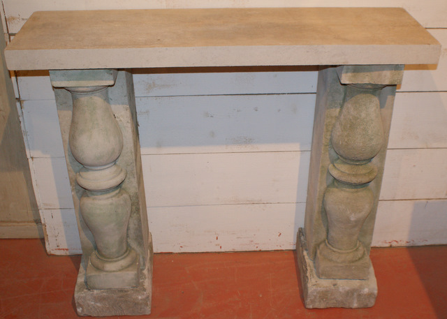 Small Stone Console Tables