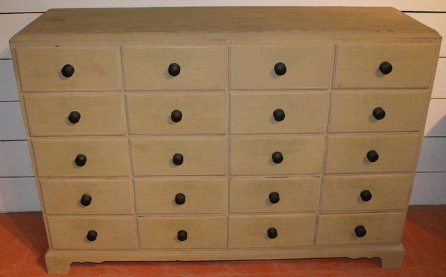 Base Of 20 Drawers