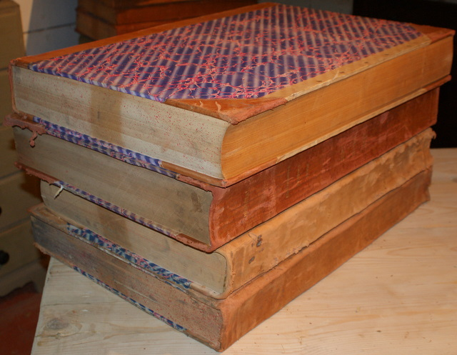 Large Leather Bound Books