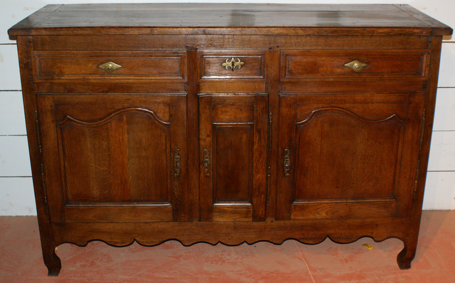 French Oak Enfilade.