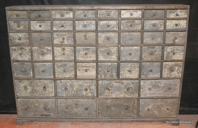 Bank of Seed Drawers