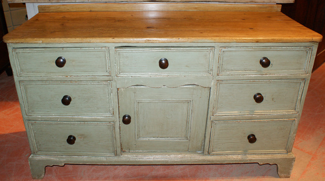 Painted Pine Dresser Base