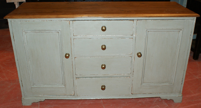 Painted Cumbrian Dresser Base