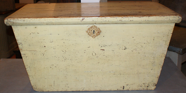 Original Painted Coffer