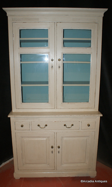 Painted French Bookcase