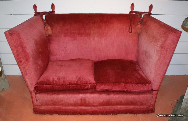 Edwardian Knole Sofa ...