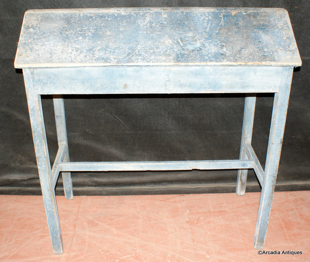 Blue Painted Saddle Stand