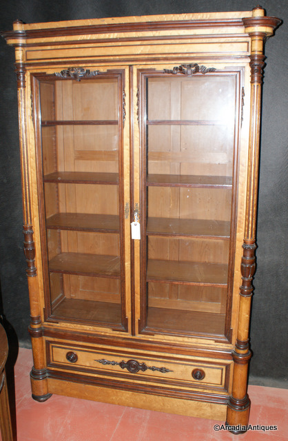 Rosewood and Marple Bookcase