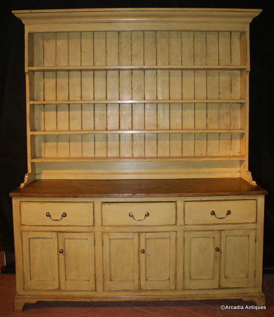 Painted Country Dresser